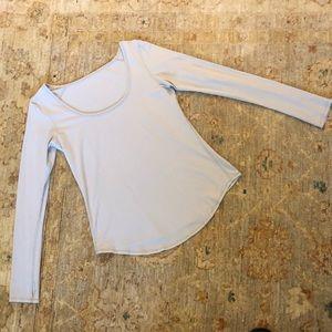Lululemon Gray Shirt Sz 10
